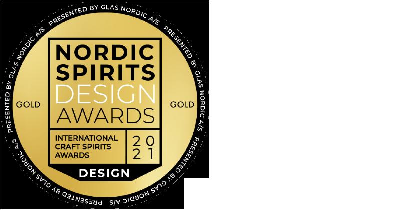 Nordic Spirits Design Award 21 Gold