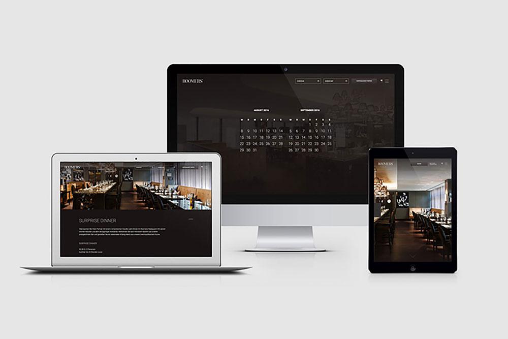 Screenshots Roomers Corporate Website
